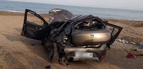 قتيل وأربعة جرحى اثر حادثة سير بين الناظور والدريوش