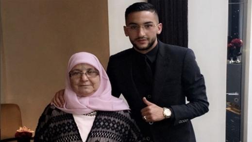حكيم زياش ووالدته يتبرعان بمبلغ ضخم من أجل مرضى السرطان بالمغرب