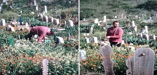 صور توثق لوفاء ناصر الزفزافي لحبيبته المتوفاة تشعل الفايسبوك