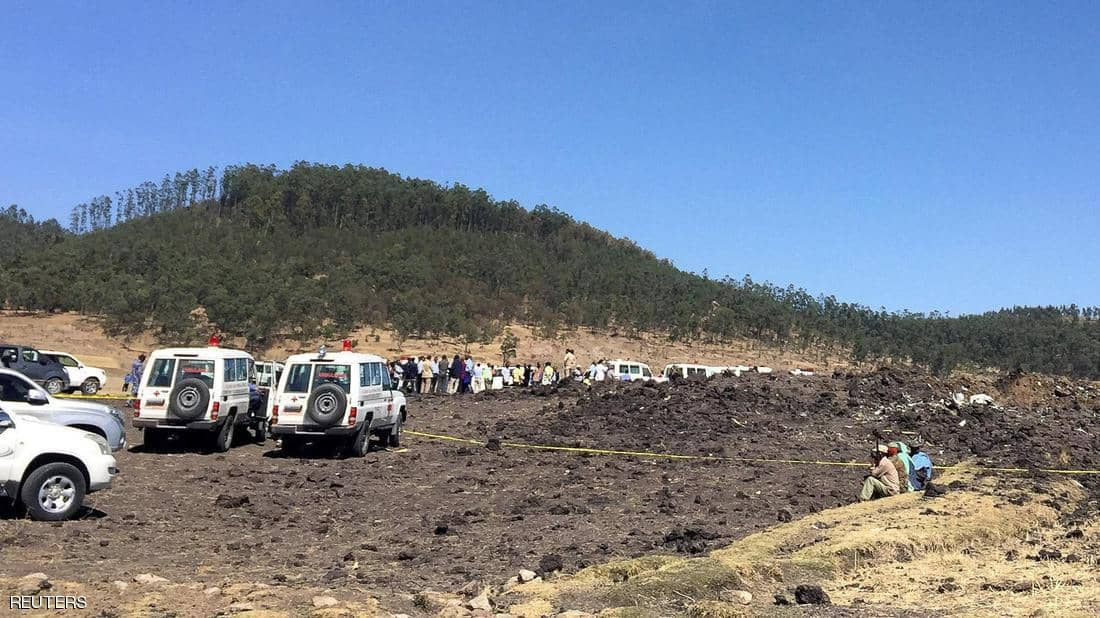مغربيان ضمن قتلى حادث سقوط طائرة اثيوبية ذهب ضحيتها 157 شخصا