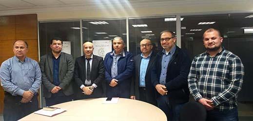 جمعية الصفاء تعقد لقاء مع المدير الإقليمي لوزارة الصناعة بالناظور لتدراس مشاكل القطاع