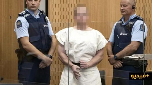 شاهدوا.. مثول إرهابي نيوزيلندا الذي قتل مسلمين داخل المسجد أمام المحكمة