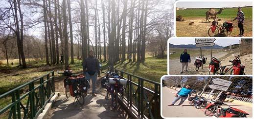 في تحدٍّ صعب.. شابان من الدريوش يجوبان المدن المغربية في رحلة طويلة على متن دراجتيهما الهوائتين