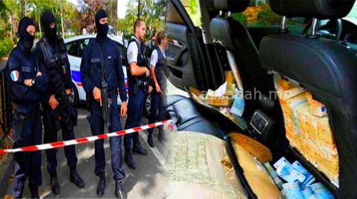 هكذا أوقفت فرنسا عصابة مغربية تهرب الأموال والمخدرات في سيارات دبلوماسية