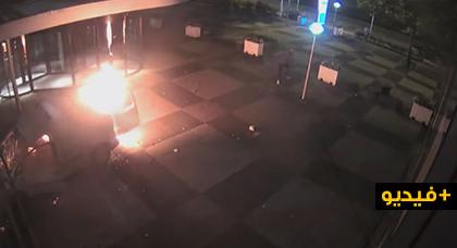 الشرطة الهولندية تبحث عن أفراد عصابة يتزعمها مغربي هاجمت مقر جريدة بسيارة مفخخة
