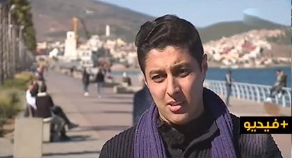 """الفاعل المدني آمين برجال إبن الناظور يحكي تجربته الجمعوية ضمن """"مدرسة الحياة"""" على قناة دوزيم"""
