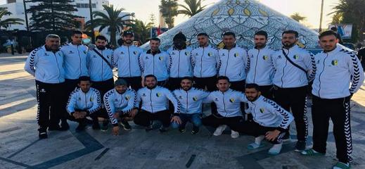 نهضة زايو لكرة اليد في القسم الوطني الممتاز