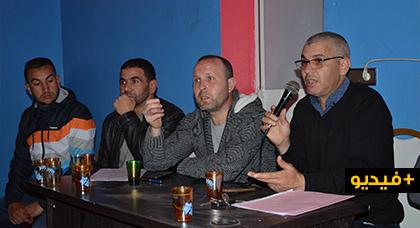جمعية بادر تعقد  لقاء تواصليا  مع الساكنة بشأن مشاكل حي إيفري أوشار ببويزازن