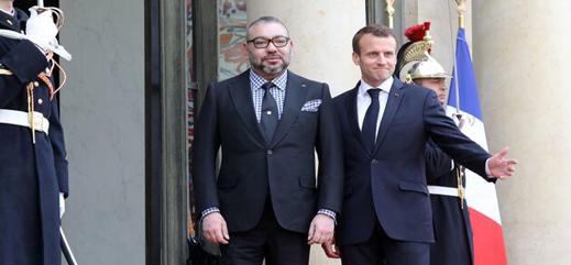 الملك يعلن تضامن المغرب مع فرنسا على إثر الحريق الذي اندلع في كاتدرائية نوتردام