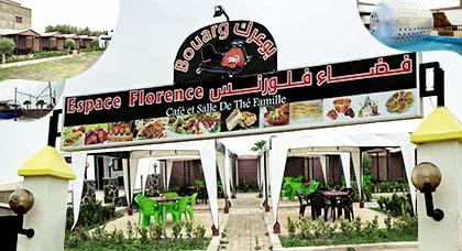 الإفتتاح ما قبل الرسمي لفضاء فلورانس بطريق بوعرك.. أجود الأكلات التقليدية وأماكن خاصة للترفيه