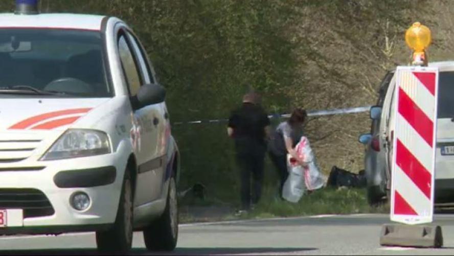 بالفيديو.. العثور على حقيبة تحتوي على رفات بشرية بمنطقة والونيا ببلجيكا