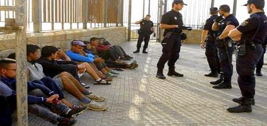 """إسبانيا تشرع فعليا في إحصاء """"الحراكة"""" المقيمين سرا فوق ترابها لترحيلهم إلى المغرب"""