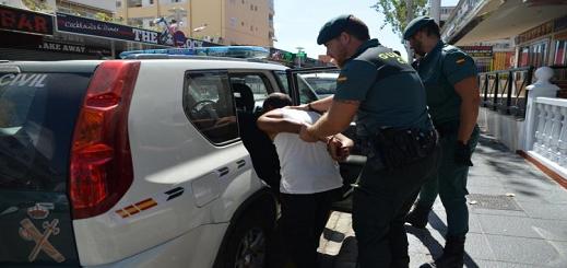 بالفيديو.. إطلاق نار على شاب مغربي والشرطة الإسبانية تعتقل متهمين
