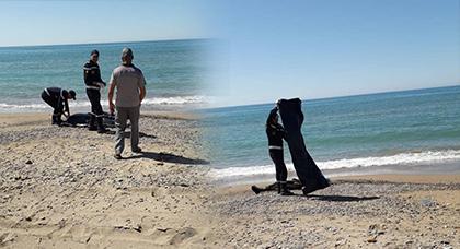 شاطئ شملالة بأمجاو يلفظ جثة شخص مجهول الهوية