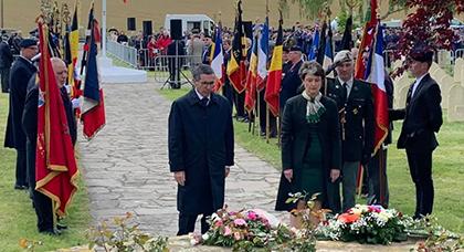 بالصور.. سفير المغرب لدى بلجيكا يحضر تكريم الجنود المغاربة الذين سقطوا في معركة جومبلو- شاست