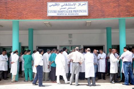 أطباء المستشفى الحسني متذمرون اثر الاعتداء على زميل لهم في المستعجلات