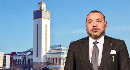 الملك يعطي امره بافتتاح المسجد الكبير بالناظور.. وهذا الاسم الذي اطلقه على المعلمة