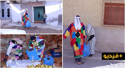 الطريقة الكركرية تُوزع موادا غذائية على الفقراء والمعوزين من الأسر بالعروي