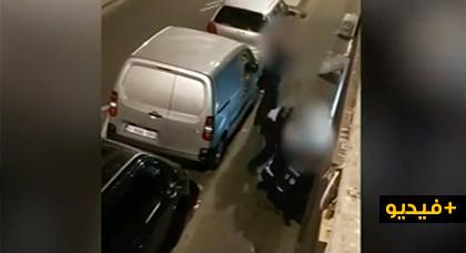 بالفيديو.. توقيف ضباط شرطة إعتدوا بالضرب على شخص في حي مولنبيك ببروكسل