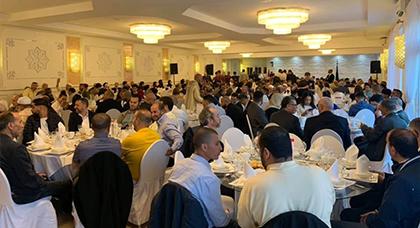 سفارة المملكة المغربية ببلجيكا و القنصلية العامة للمملكة المغربية بأنفرس تقيمان حفل إفطار بهيج