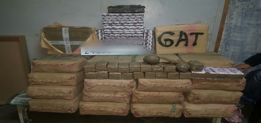 ضبط نصف طن من مخدر الشيرا و24 كلغ من الكوكايين على متن سيارة خفيفة