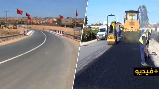 روبورتاج.. القناة الأولى تسلط الضوء على مشاريع البنية التحتية الطرقية بإقليم الدريوش