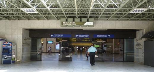 بالفيديو.. إخلاء محطة للقطارات في بروكسل بعد إنذار بوجود قنبلة
