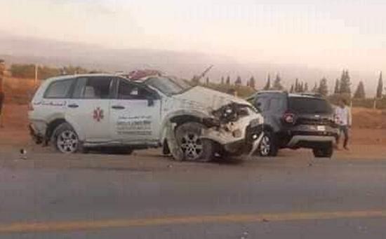 كانت قادمة من المستشفى الحسني.. انقلاب سيارة إسعاف تابعة لجماعة ميضار قبيل أذان المغرب