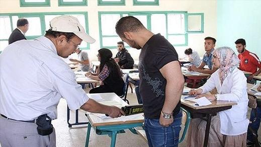 عمليات أمنية استباقية لمواجهة الغش في الامتحانات