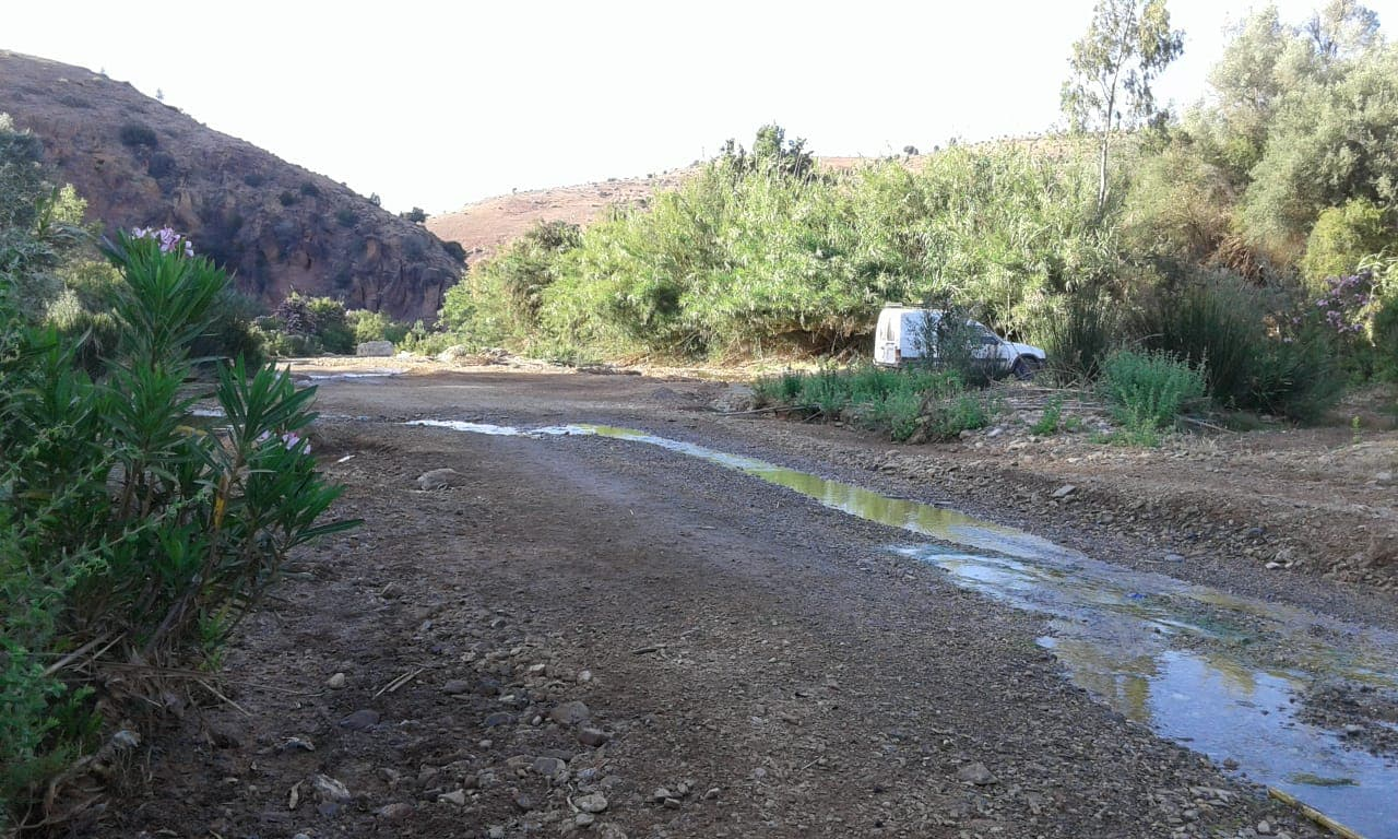 قلة التساقطات المطرية وإرتفاع درجات الحرارة تتسبب في تراجع مياه أكبر وادي بإقليم الدريوش