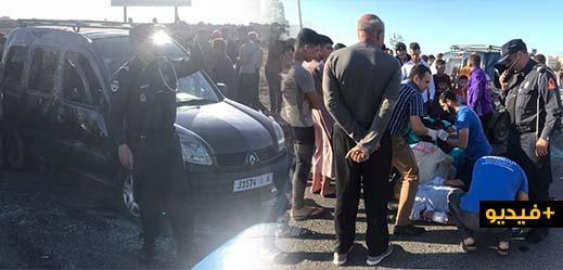 نقل ستّ حالات حرجة إلى مستشفى الناظور إثر إنقلاب سيارة وسط بني أنصار في حادث مروع