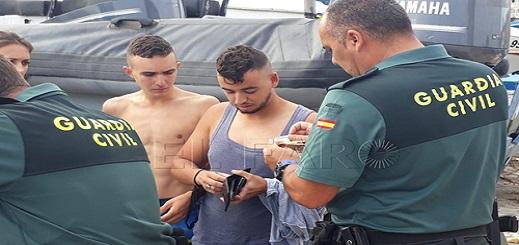 إسبانيا تُرحّل خلال 2018 حوالي ثلاثة آلاف مهاجر مغربي من فوق أراضيها
