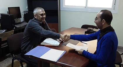 جمعية البناة بالناظور توقع إتفاقية شراكة مع منظمة إسبانية لتنفيذ مشاريع تنموية