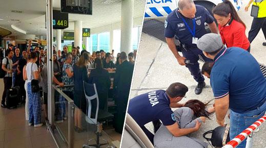 كانوا قادمين من باريس.. مغاربة عالقون داخل طائرة بمطار لشبونة والشرطة تمنعهم من النزول