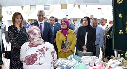 عامل الحسيمة يفتتح فعاليات معرض الأسواق المتنقلة للاقتصاد الاجتماعي والتضامني بالحسيمة