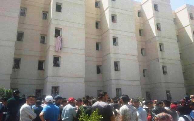 مأساة.. مصرع طالب جامعي سقط من الطابق الثالث بالحي الجامعي بوجدة