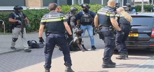 الشرطة الهولندية تعثر على سلاح آلي ومخدرات وذخيرة وأموال بأحد المنازل بروتردام