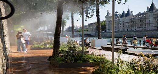 فرنسا تعيش أسوأ موجة حرارة في تاريخها هذا الأسبوع.. الحرارة تسجل مستويات قياسية