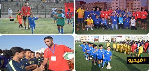 حارس المنتخب المغربي يحط الرحال بالناظور لدعم المواهب الكروية بالإقليم