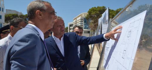 انطلاقة أشغال بناء مركز بالحسيمة متخصص في ترحيل الخدمات باستثمار يفوق 15 مليون درهم