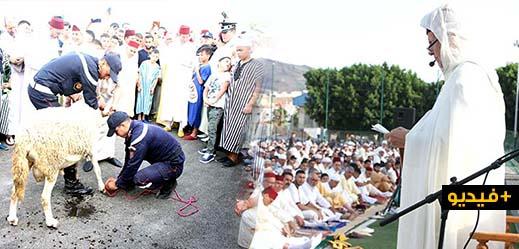 الآلاف من ساكنة الناظور تؤدي شعائر صلاة عيد الأضحى المبارك بساحة الشبيبة