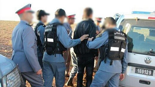 عناصر الدرك الملكي ببودينار تقوم بحملة ضد المبحوث عنهم وتعتقل مجرمين قاموا بعدة سرقات