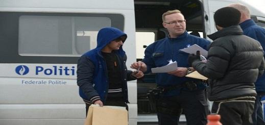 الشرطة نفذت 77.6٪ من العمليات التفتيشية.. فلاندرز أكثر المناطق البلجيكية بحثاً عن المهاجرين غير الشرعيين