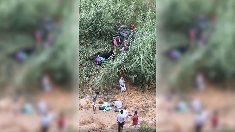 بالفيديو.. مصرع سيدة وإصابة 5 اشخاص بجروح خطيرة في حادث إنقلاب سيارة نفعية بالحسيمة