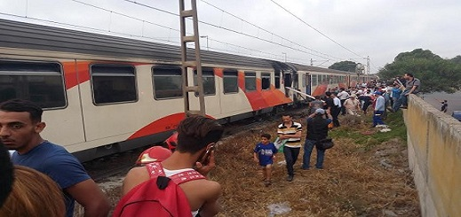 سقوط قاصر من على مقطورة قطار كان متجها صوب الناظور