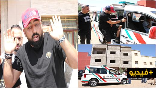 الشرطة تقتاد الكوميدي بوزيان اثر منع السلطات من هدم منزله