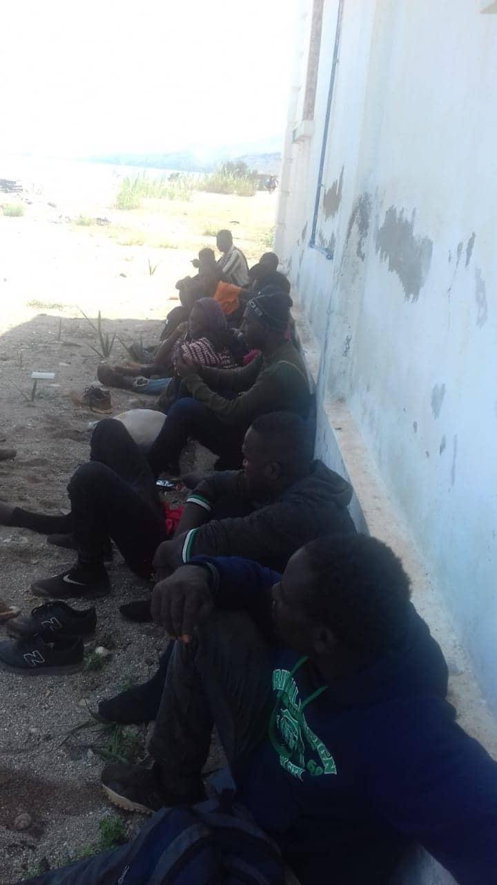 تزاغين.. توقيف 52 مرشحا للهجرة السرية  بينهم 5 نساء كانوا يستعدون للهجرة على متن قارب مطاطي