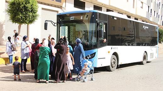 سكان حي الشعبي بالمطار يحتجون على عبثية فيكتاليا للنقل العمومي