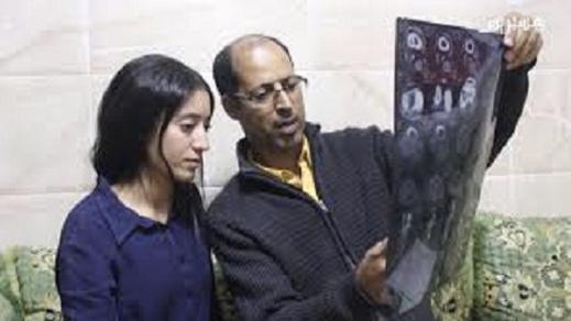 بعد نشر معاناتها.. وزارة الصحة تتكفل بعلاج الشابة رحاب الراجي المريضة بسرطان العظام