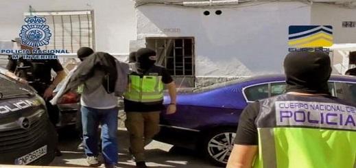"""اعتقال مهاجر مغربي بشبهة علاقته بتنظيم """"داعش"""" بإسبانيا"""